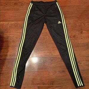 Adidas strip sweatpants